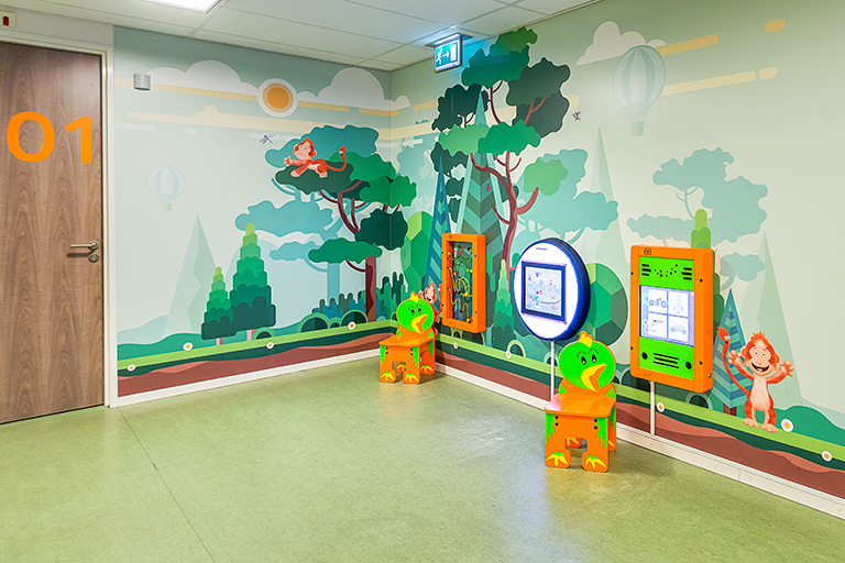 Maasstad hospital waiting area | IKC Healthcare