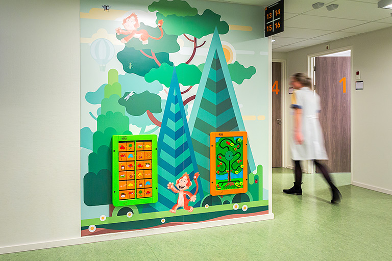 Kids corner in Hospital Maasstad | IKC Healthcare