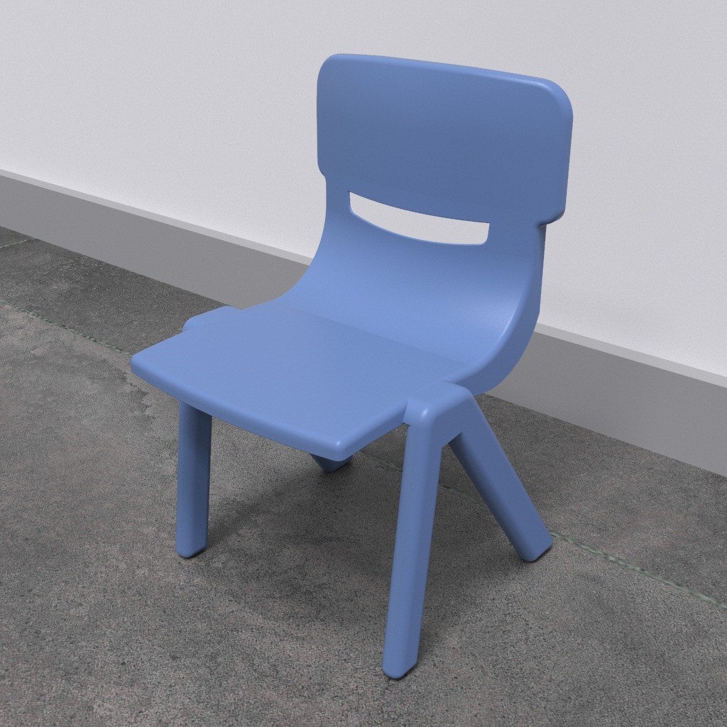 Quest'imagine mostra Mobili per bambini Fun chair blue