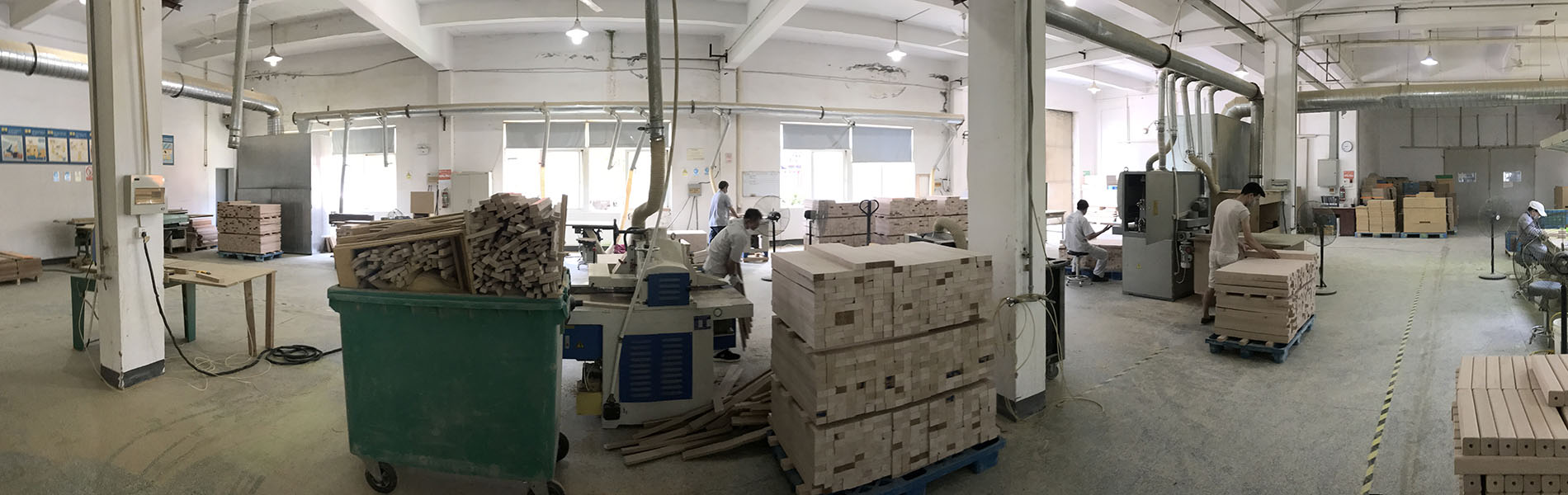 this image shows the factory of IKC in China