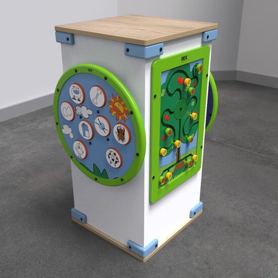 Op deze afbeelding staat een speelsysteem | IKC speelsystemen