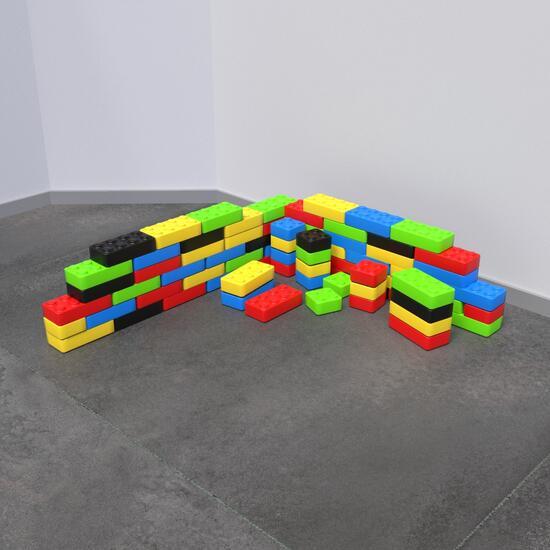 Op deze afbeelding staat een Speelsysteem Funblocks