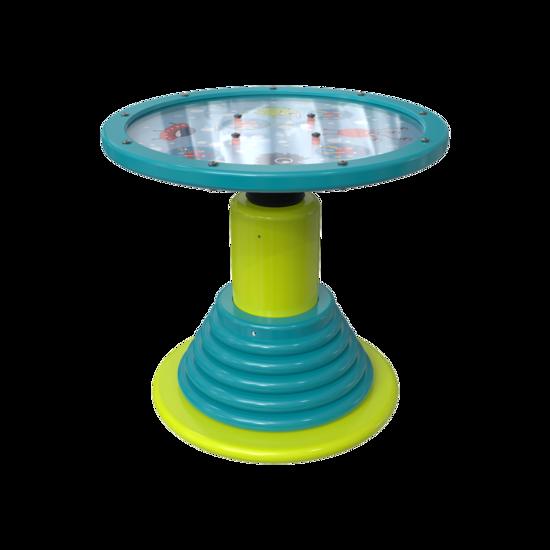 Een vrijstaand balanceer spel    IKC speelsystemen