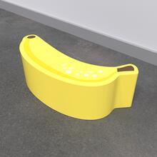 Op deze afbeelding staat een softplay Banana